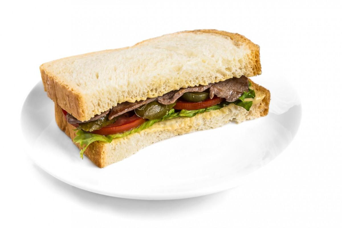 Ростбиф  сэндвич