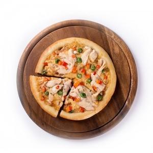 Мини пицца ветчина и сосиски