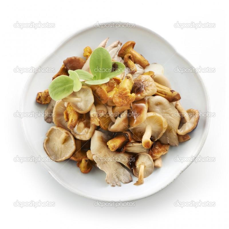 Микс сезонных грибов