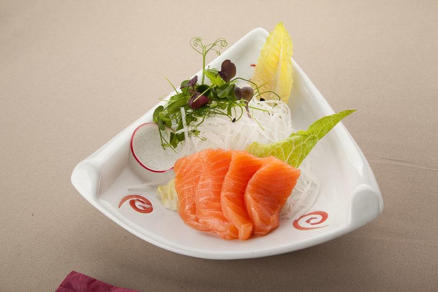 Сашими но-новому с лососем