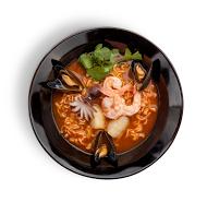 Рамен с морепродуктами
