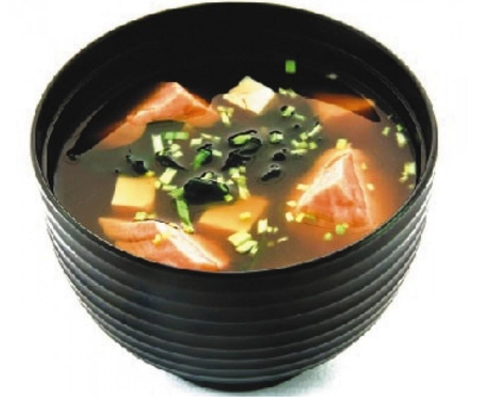 мисо суп с лососем рецепт с фото