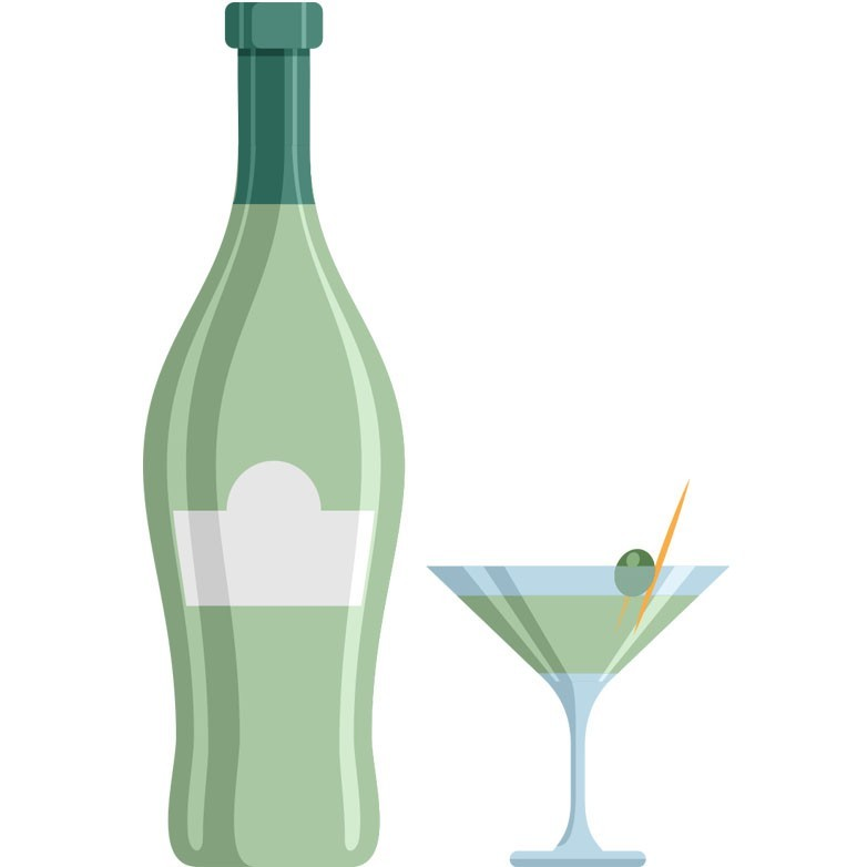 Martini extra dry 100ml
