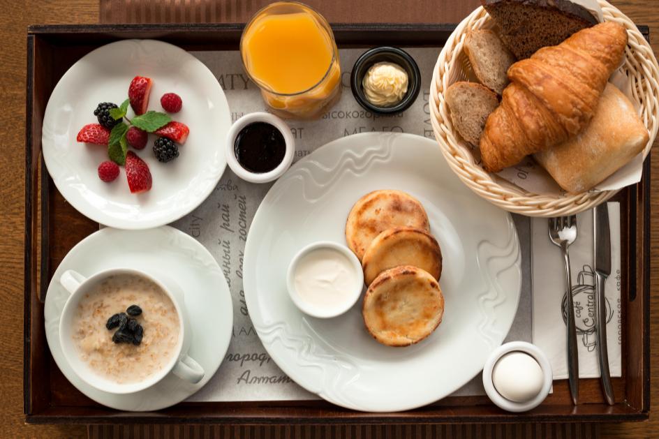 Завтрак Central