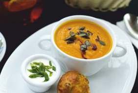 Суп крем из молодой тыквы