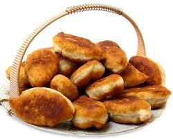 Пирожки жаренные с картошкой