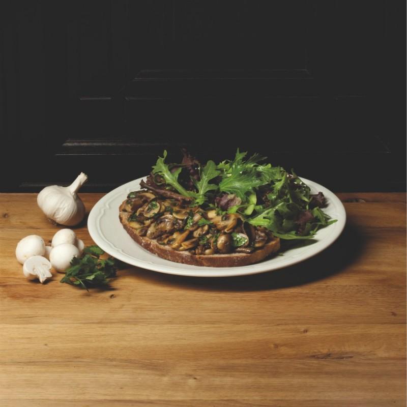 Картофельная галета с шампиньонами