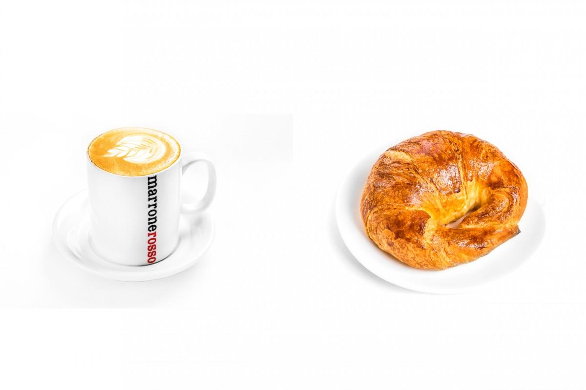 Комбо  до 12:00 (кофе/чай+круассан )