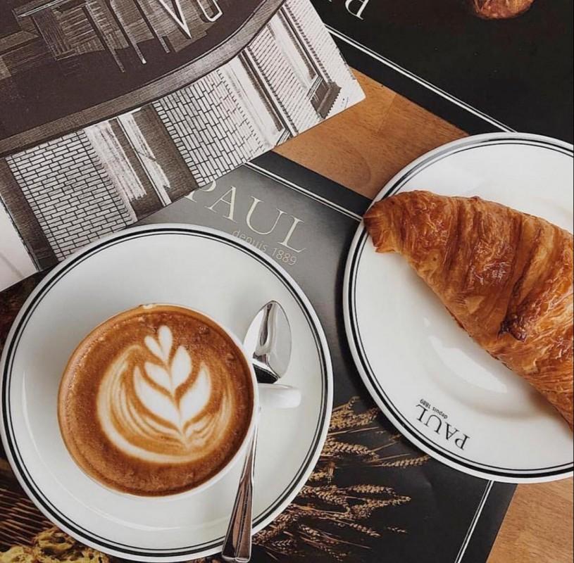 Кофе + круассан