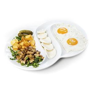 Завтрак Деревенский (с горячим/холодным напитком)