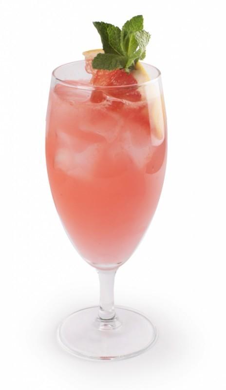 Напиток роза и грейпфрут