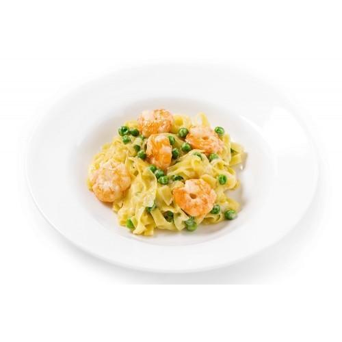 Паста Тальятелле с креветками