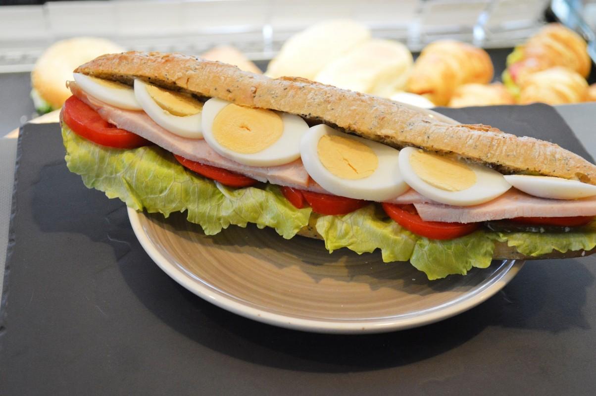 Сэндвич Американо с индейкой