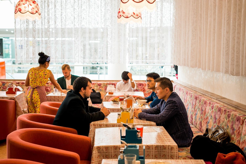 Еда города (Astana Mall)