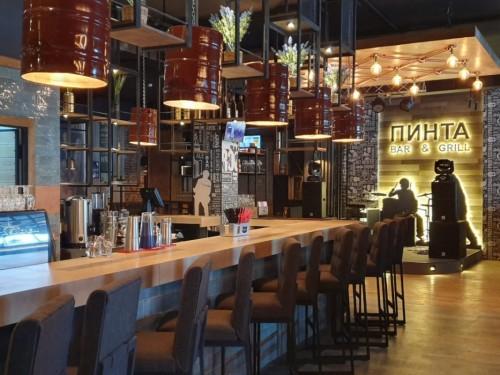 Пинта Bar&Grill (на Кабанбай батыра, круглая площадь)